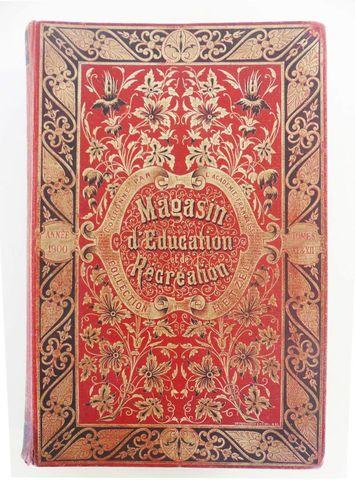 VERNE (Jules). Magasin d'éducation et de récréation. Paris, Hetze...