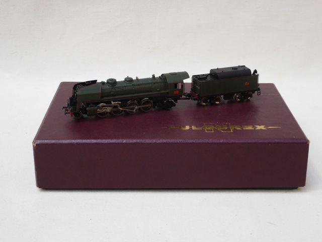 FULGUREX écart.N, 1:160 Locomotive à vapeur à tender séparé SNCF ...