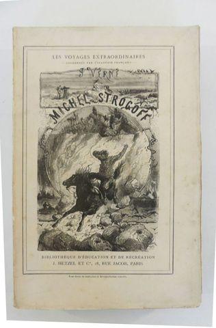 VERNE (Jules). Michel Strogoff. Paris, Hetzel, sd (1897 catalogue...