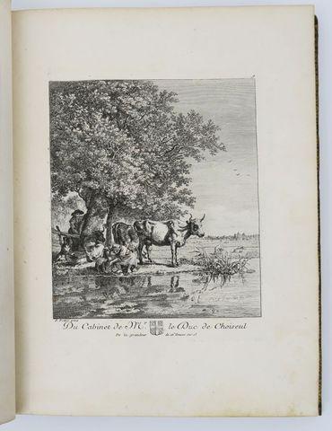BASAN (François). Recueil d'estampes gravées d'après les tableaux...