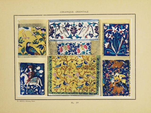 Céramique - GRANDJEAN (René). Céramique orientale. Paris, Ernst, ...
