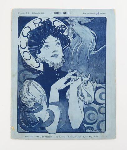 COCORICO. Paul Boutigny, directeur. Paris, 1898-1901. 63 numéros ...