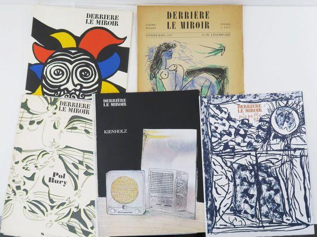 Derrière Le Miroir. N°156 - Calder. Paris, Maeght, 1966. In-4 en ...