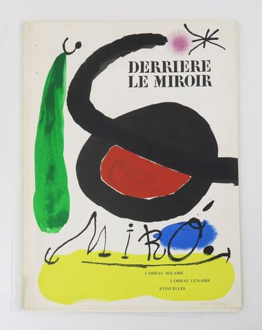 Derrière Le Miroir. N°164-165 - Mirò. Paris, Maeght, 1964. In-4 e...