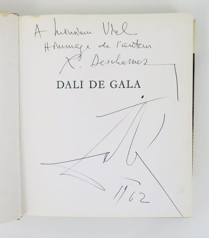 DESCHARNES (Robert). DALI de Gala. Paris, Bibliothèque des arts, ...