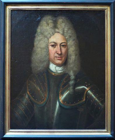 Ecole HOLLANDAISE du XVIIIème siècle Portrait du Chevalier Charle...