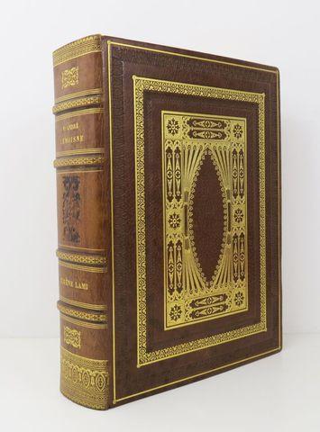 LEMOISNE (P. A.). Eugène Lami 1800-1890. Paris, Goupil & Cie, 191...