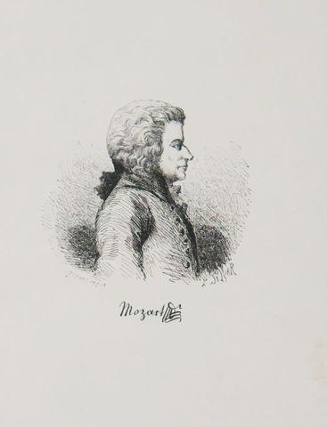 Musique - NISSEN (G. N.) & SOWINSKI (A.). Histoire de W. A. Mozar...
