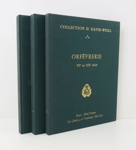 Orfèvrerie. Collection D. DAVID-WEILL. Orfèvrerie France XVIIe et...
