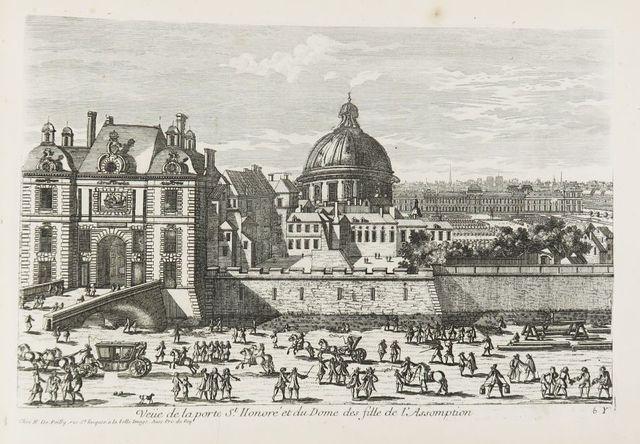PÉRELLE. Recueil de 130 gravures. Sl, [fin XVII° siècle]. In-foli...