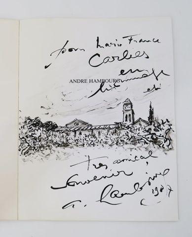 ROUANET (Pierre). A. HAMBOURG à Saint-Rémy de Provence. Paris - B...