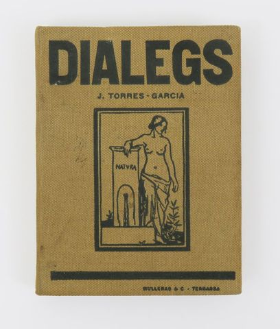 TORRES-GARCIA (Joaquín). Diálegs. sl, Mullers & C. Terrasse, 1915...
