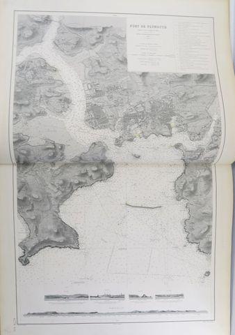 Cartes. Atlas publié par le Dépôt des cartes et plans de la marin...