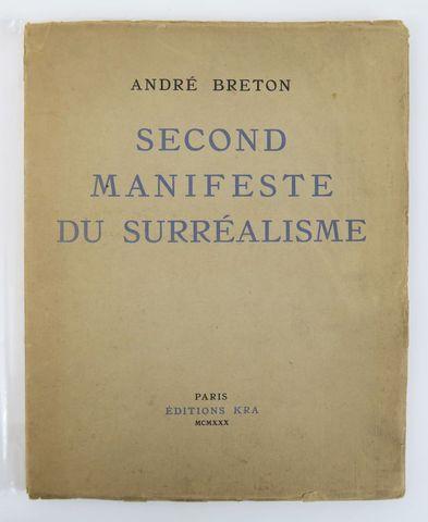 BRETON (André). Second Manifeste du Surréalisme. Paris, Éditions ...