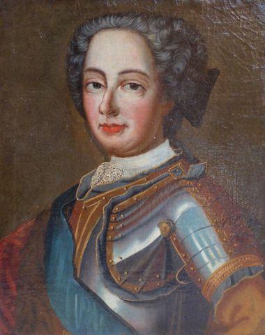 Ecole Française XVIIIe siècle Portrait d'homme et de femme Paire ...