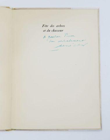 CHAR (René). Fête des arbres et du chasseur. Paris, GLM, 1948. In...
