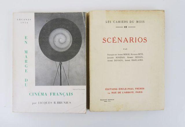 [Cinéma]. Les Cahiers du mois n°12. Scénarios par François et And...