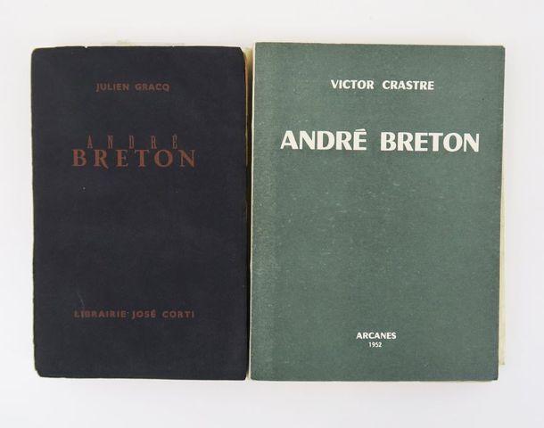 GRACQ (Julien). André Breton. Paris, José Corti, 1948. In-12 broc...