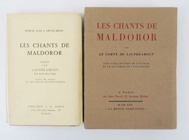 LAUTREAMONT (Isidore Ducasse, comte de). Les Chants de Maldoror. ...
