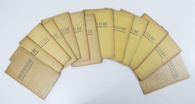 Littérature (Revue). 1ère série, n°1 à 14, mars 1919 à juin 1920....