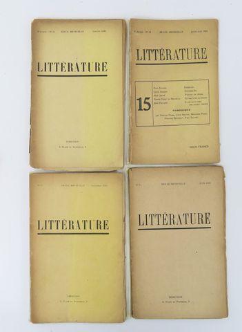 Littérature (Revue). 1ère série, n°4, 9, 11 et 15. Directeurs: L...