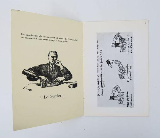 MAGRITTE (René). Leçon de choses. Ecrits et dessins. Tilleur-lez-...