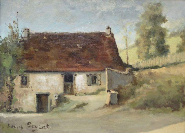 Louis PEYRAT (1911-1999) Le Pont Cholet à Saint-Germain-Les-Belle...