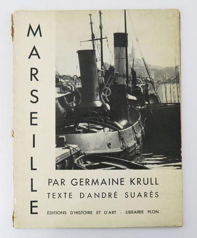 Photographie - KRULL (Germaine) & SUARÈS (André). Marseille. Pari...