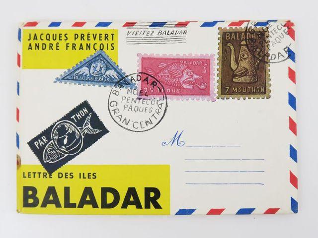 PRÉVERT (Jacques) et FRANÇOIS (André). Lettre des Iles Balabar. P...