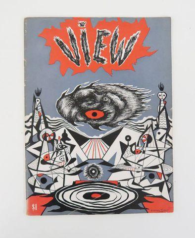 View. The Modern Magazine. Series IV, n°4, decembre 1944 New York...