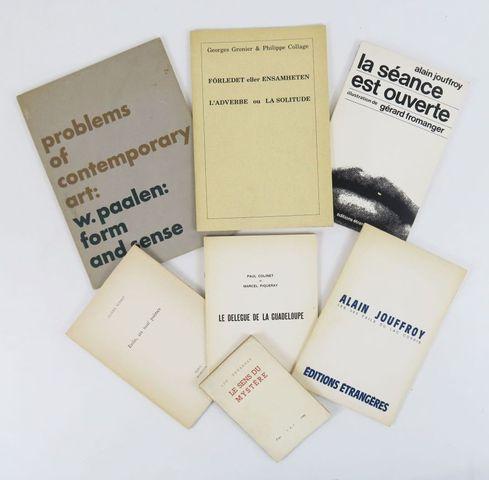 Lot. 7 ouvrages avec E.A.S. de l'auteur:  - W. PAALEN, Problems ...