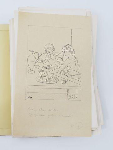 BRUNET (André) & OVIDE. L'Art d'aimer. Paris, Kieffer, 1950. Peti...
