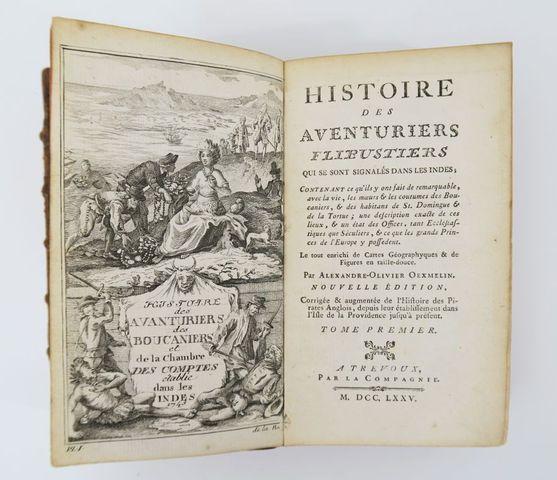 OEXMELIN (Alexandre-Olivier). Histoire des aventuriers flibustier...