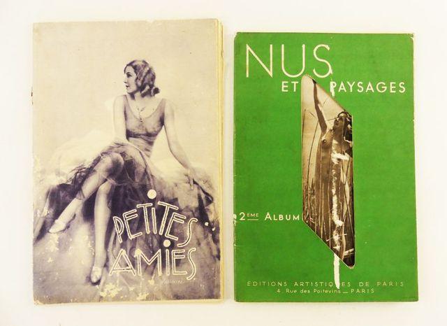 [Photos de nus]. Petites amies. Paris, Éditions de Paris, 1930. A...
