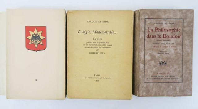 SADE (Donatien-Alphonse-François, comte de, dit Marquis de). Œuvr...