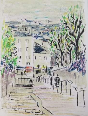 DABIT (Eugène) & SAVARY. Faubourgs de Paris. Paris, Société Norma...