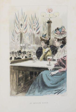 UZANNE (Octave). La femme à Paris. Nos contemporaines. Notes succ...