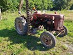 TRACTEUR AGRICOLE MC CORMICK INT. TYPE: F 135 D. N° SERIE: 810 50...